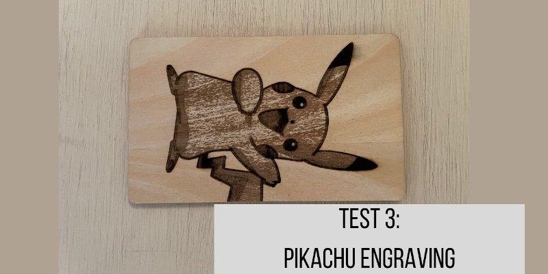 pikachu engraving ortur laser master 2 pro review