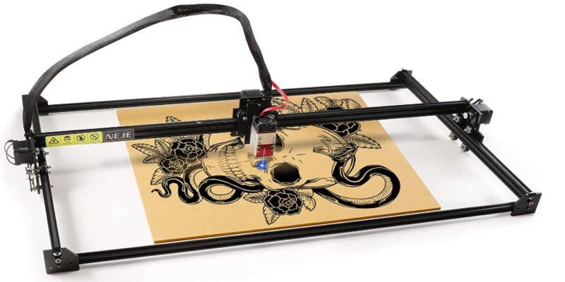 NEJE laser engraver for metal