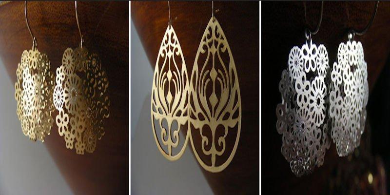 Laser Cutter Gift - Jewelry Earrings
