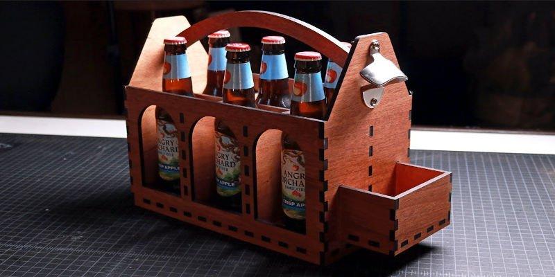 Laser Engraver Gift - Beer Carrier
