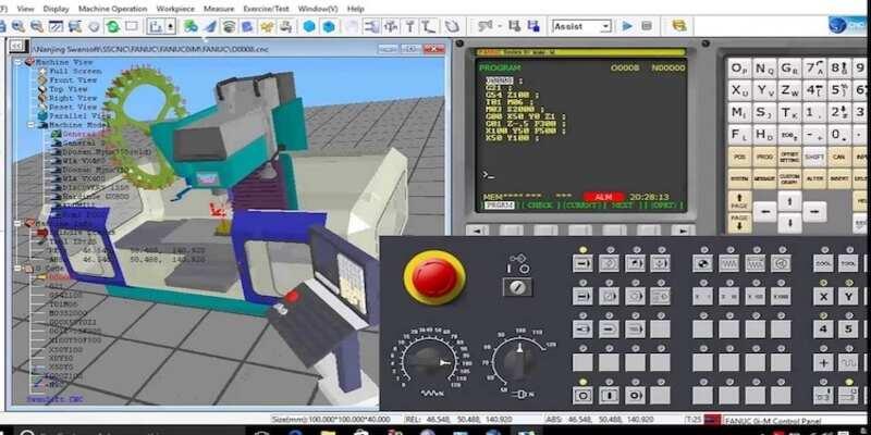 Fanuc CNC Machining Simulation
