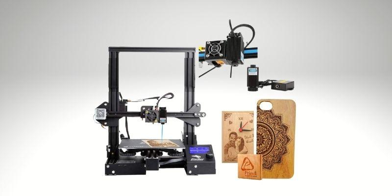 creality ender 3 laser engraver 3d printer