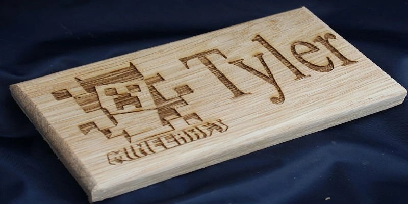 CNC Wood Sign for Bedroom