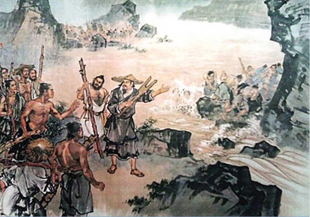 中華文明溯源故事:大禹治水   三過家門而不入   中國文化網