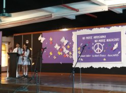 Hiroshima commemoration CNDP school program 7