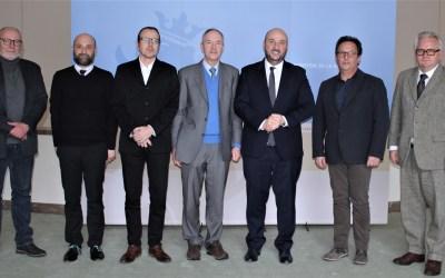 Le ministre Étienne Schneider a rencontré le Comité national de défense sociale (31.01.2019)