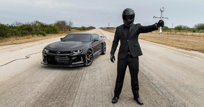 Hennessey Charges 120k For A 1000 Hp Camaro Exorcism Pea Soup Is Optional Roadshow