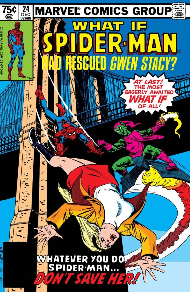 What if Spider-Man had saved Gwen Stacy's cover