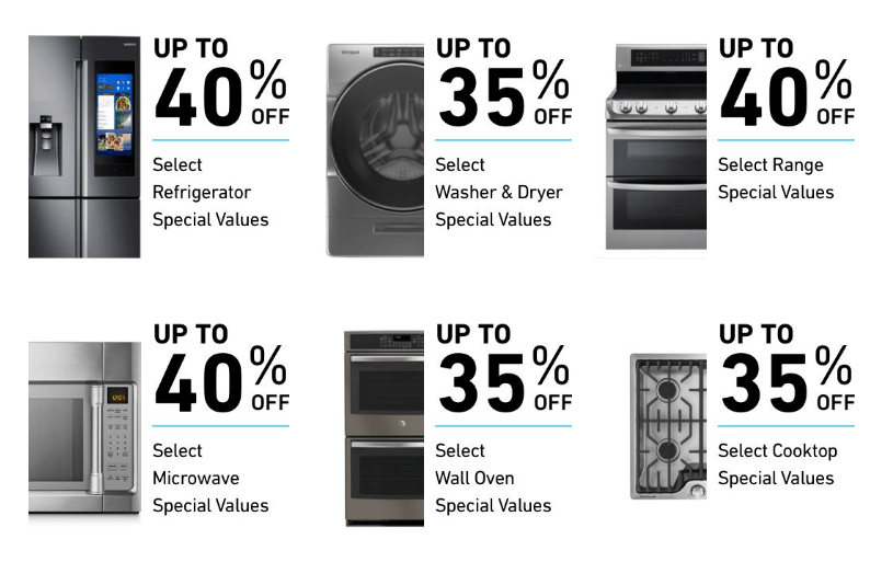 tools and home appliances sale up to 40