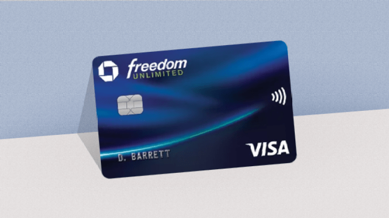 credit card chase freedom unlimited