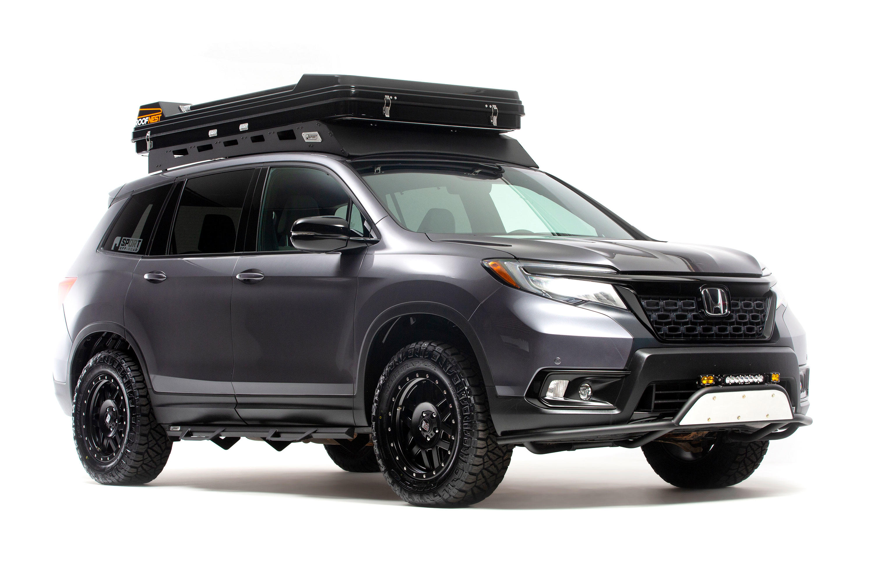 Research the 2020 honda ridgeline at cars.com and find specs, pricing, mpg,. Honda Passport Ridgeline Get Off Road Accessories For Overland Expo Roadshow
