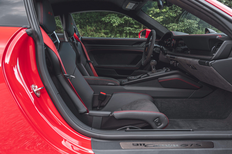 2022 Porsche 911 Carrera GTS - interior