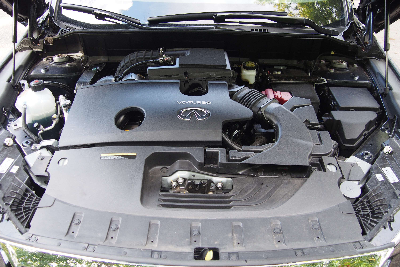 2022 Infiniti QX55 Essential AWD - engine