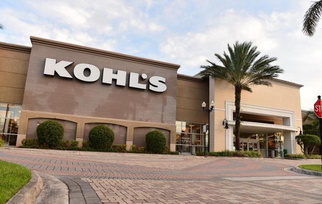 A view outside a Kohl's store on July 16, 2020 in Florida.