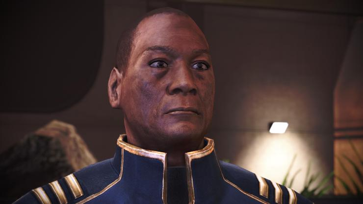 Anderson in Mass Effect: Legendary Edition