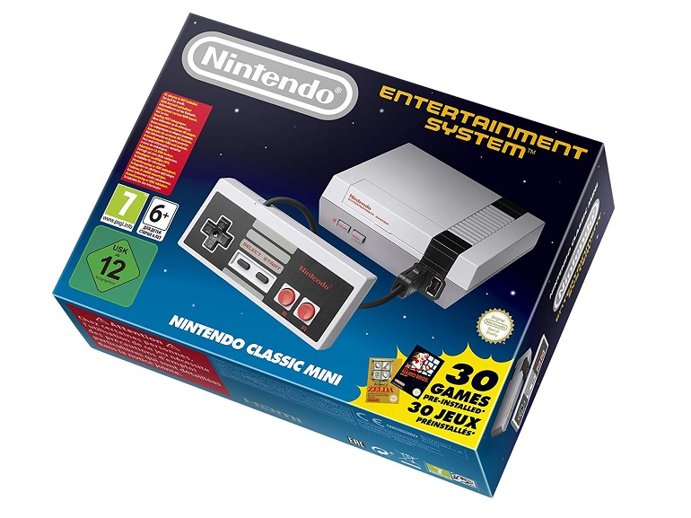 Bon plan : la Nintendo NES Classic Mini à 54,90€ sur Amazon