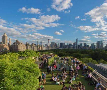 Vue sur Central Park et Midtown