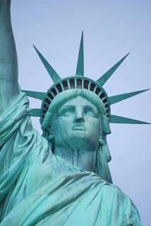 Portrait de la statue de la Liberté
