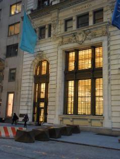 Une bijouterie dans Wall Street