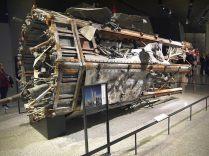 Des débris de l'antenne de la tour WTC1 au 9/11 Museum