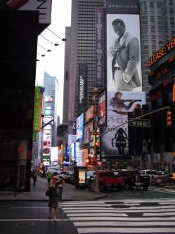 Les publicités géantes de Times Square