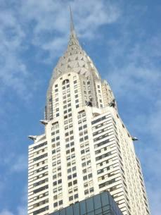 Portrait serré du Chrysler building