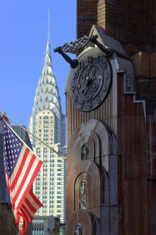 Le Chrysler building en version patriote !