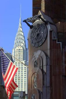 Le Chrysler building en version patriote !