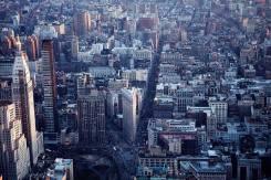 Vue le Flatiron building depuis l'Empire State building.
