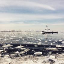 Depuis le ferry de Staten Island