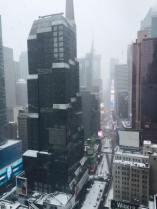 Vue depuis le Novotel Times Square