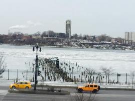 L'Hudson River façon banquise