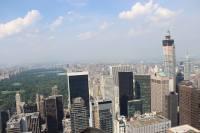 Vue sur Central Park et Midtown, depuis le Top of the Rock