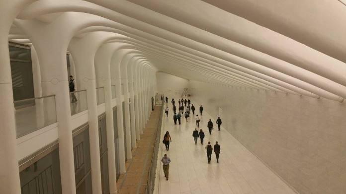 A l'intérieur de la One World Trade Center. (Photo Smain Stanley)