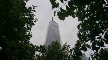 Le sommet du One World Trade Center. (Photo Smain Stanley)