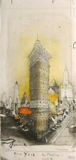 Le Flatiron building par Alexander Befelein.