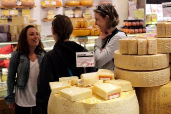 Découverte d'une fromagerie new-yorkaise. (Photo Jean-Philippe)