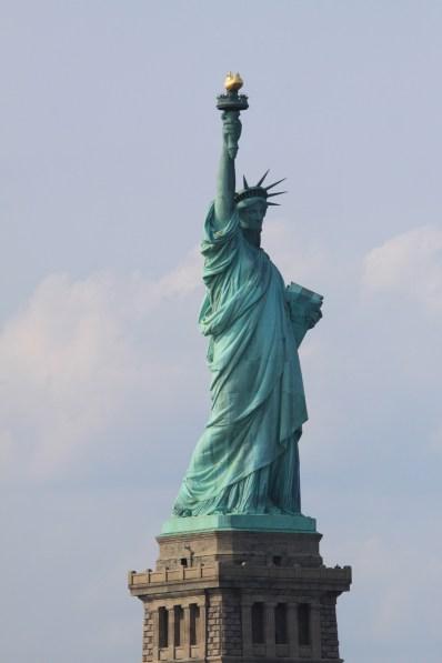 La statue de la Liberté. (Photo Didier Forray)
