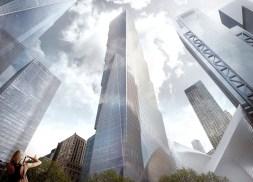 Vue depuis le Mémorial du 11/9. (Photo BIG)