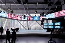 Un studio de Fox News. (Photo BIG)