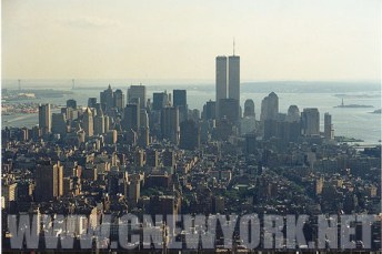 1999 : le Downtown depuis l'Empire State building. (Photo Didier Forray)