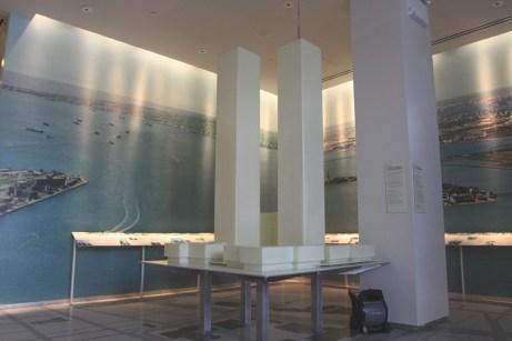 La maquette du World Trade Center. (Photo Didier Forray)