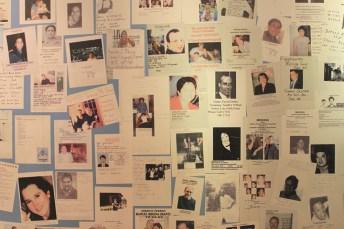 Des portraits des victimes. (Photo Didier Forray)