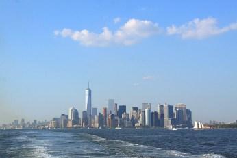 2015 : la baie depuis le ferry de Staten Island. (Photo Didier Forray)