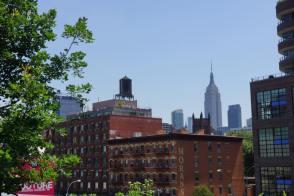 L'Empire State building se détache. (Photo Géraldine Parrinello)