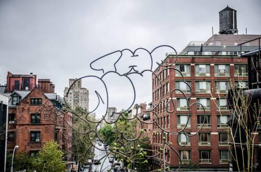 Au fil de la High Line. (Photo Muriel Poos)