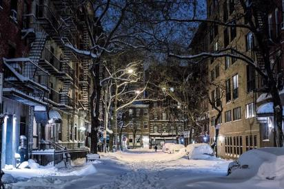 West Village neige