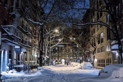 West Village neige