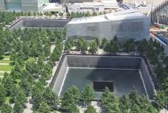 Le mémorial du 11 septembre 2001