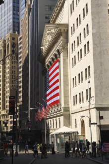 La bourse de New York. (Photo Didier Forray)